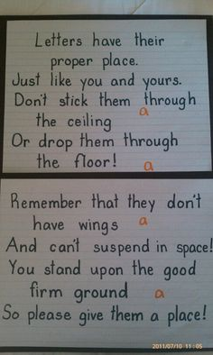 Great words for forming letters