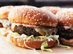 Really Awesome Black Bean Burgers