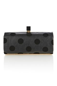 Oasis   Spotty Box Bag  £30.00