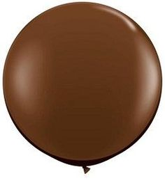 "36"" brown balloon for Thanksgiving"