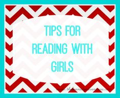 Tips for Reading with Girls : 30 Days of Reading with My Kids from Kennedy Adventures