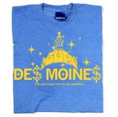 Des Moines T-shirt-Raygun http://raygunsite.com/?shopgate_redirect=1 moin tshirtraygun, iowa, des moin, caucus rock