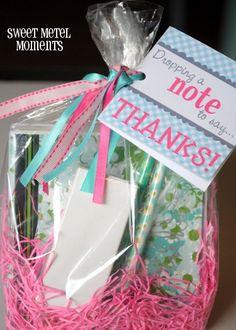 teacher gifts, teacher appreciation note, teacher appreciation gifts, usb flash drive, goody bags