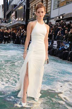 Emma Watson in Ralph Lauren at the Noah premiere in London