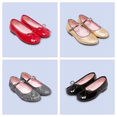 So in love with these ballet flats and mary janes for girls this fall
