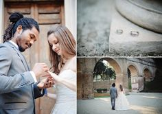 An Elegant Elopement ✈ Destination Wedding in Rome
