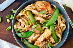 Chicken Lo Mein  | 7 Quick Dinners To Make This Week