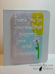 color with embossing folders
