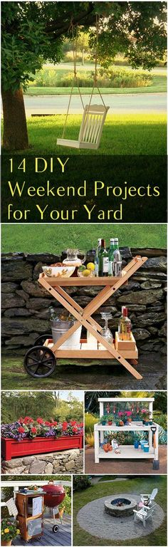 14 DIY Weekend Proje