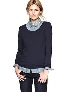Crewneck sweater | Gap    want this for work