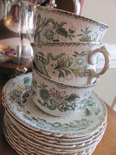 Green china. rare and beautiful.