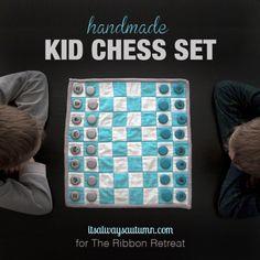 Sew a chess set!