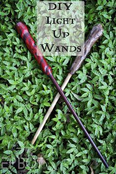 costume ideas, wand tutorial, diy wands, harry potter costume diy, diy light