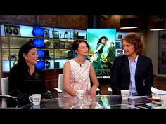 """Outlander"" author and actors on transition from books to TV series - YouTube"