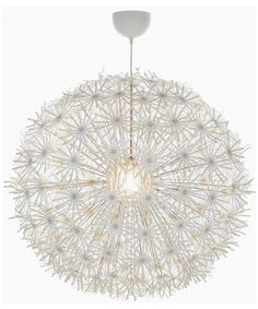 ikea chandelier flower paper | just saw it on Little Green Notebook , and I'm loving it. The shade ...