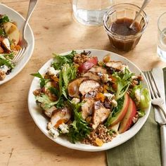 This satisfying salad with roasted turkey and wheatberries will be the star of your fall menu.- Visit PaneraBread.com for more inspiration.