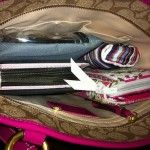 How to Organize Your Purse So You Can Find Things. Via KosheronaBudget.com
