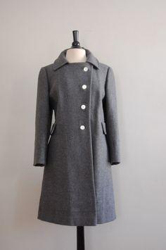 vintage 1960s BERING STRAIT wool coat