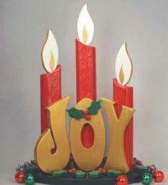 19-W2950 - Joy Post Candles Woodworking Plan