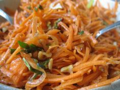 savori carrot, tradit food, toast nut, carrots, recip