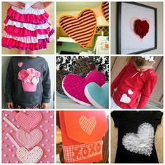 32 Valentine's Day Sewing Projects - Enjoy this special holiday with fun sewing projects you can make with or for your sweetie.
