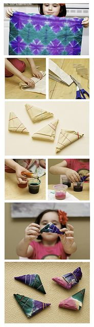 How to tie dye!