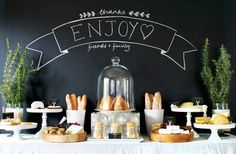Entertain In Style With Rustic Bread & Cheese Spread