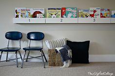 DIY Bookshelf for th