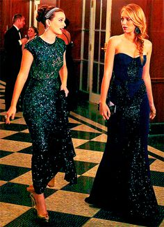 Blair and Serena #GossipGirl