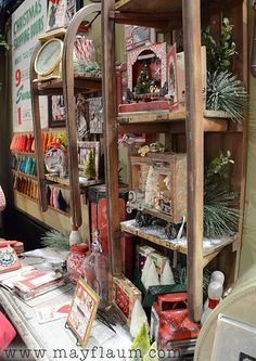 Tim Holtz Idea-ology booth CHA Summer 2013 show