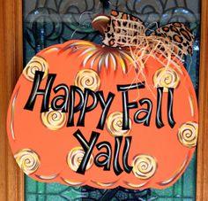Pumpkin by DoorCreationsbyJess on Etsy, $48.00