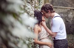 Beautiful engagement session - and her dress is to die for! (Photos by Kristen Booth - http://www.kristenbooth.net/ )