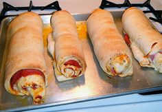 Pepperoni Rolls, going to have to make these.