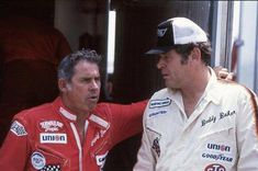 David Pearson and Buddy Baker