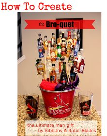 Simple DIY - The ultimate guy gift: The Bro-quet. An easy how-to