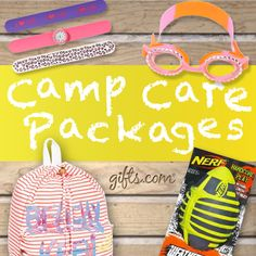 Care Package Goodies for camp.