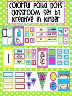 This 153 page set includes:Welcome BannerBlank banners you can write onCenters BannerWord Wall BannerWord Wall SignWord Wall LettersN...