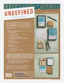 Gothdove Designs - Alison Barclay Stampin' Up! ® Australia  Stampin' Up! Undefined Stamp Carving now available in Australia!!  #stampinup #undefined #dyi #stampinupaustralia