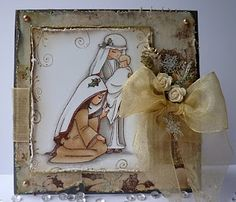 Sweet Nativity Card, Christmas Crafts