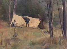 The Artist's Camp,  Tom Roberts