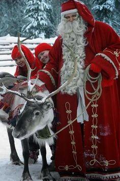 Beautiful Santa Photo