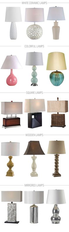 The lighting in your living room is important for both function and style. Check out these 15 table lamp ideas for your home!
