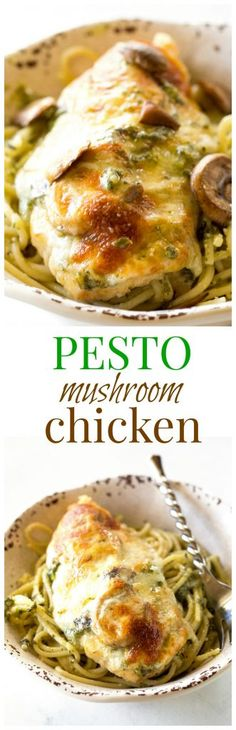 "Pesto Chicken - you'll never believe how easy this delicious dinner is! <a href=""http://the-girl-who-ate-everything.com"" rel=""nofollow"" target=""_blank"">the-girl-who-ate-...</a>"