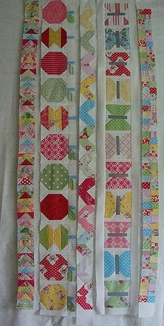 5 rows completed by Pink for me, via Flickr