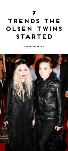 7 trends the Olsen t