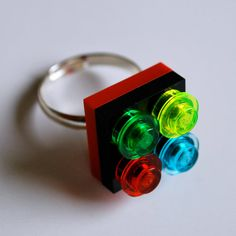 Play Day Ring in Red Build Your Own LEGO Ring
