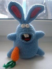 Crazy crochet bunny pattern