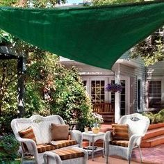 Shade Sails for the deck