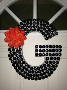 Letters initials on pinterest letters decoration wood for Letter g decoration