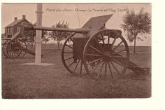 Canon Near Flag Staff Fort DuPont State Park by PostcardStore, $6.50
